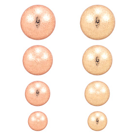 Super Cheap ★ ★ 14K shiny finished ball earring [overnightdelivery]