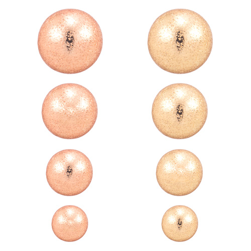 Super Specials ★ ★ Cheap 14K shiny ball earring [overnightdelivery]