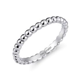 Platinum [Pt950] Bubble Wing Platinum Ring