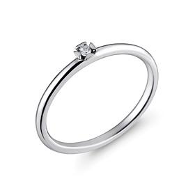 Platinum [Pt950] Simple Corner Platinum Ring