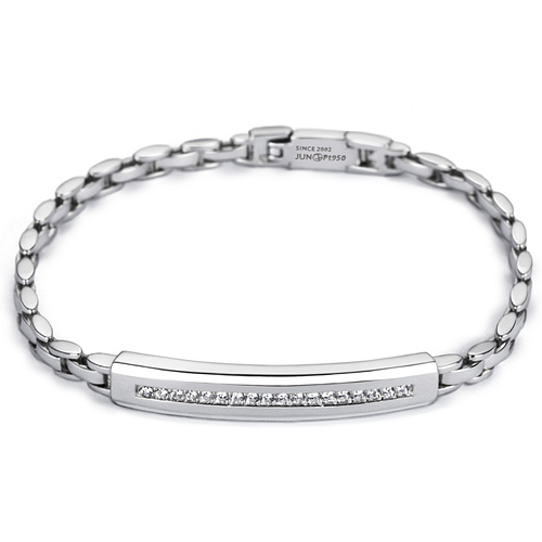 Platinum [Pt950] Royal Watch Platinum Bracelet [Recommended for women]