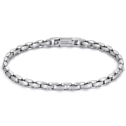 Platinum [Pt950] Peace Watch Platinum Bracelet