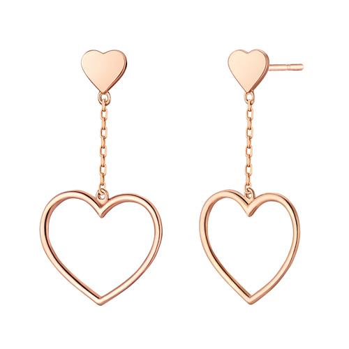 14K True Love earring