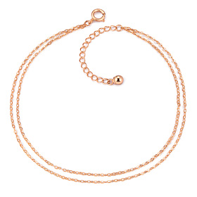 ★ NORMAJIN special price ★ 14K clean line cord bracelet [overnightdelivery]
