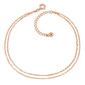 ★ NORMAJIN special price ★ 14K clean line cord bracelet [overnightdelivery]