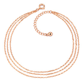 ★ NORMAIN special price ★ 14K clean cord triangle bracelet [overnightdelivery]