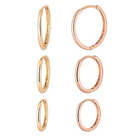 14K Circle loop earring [3 Jong Taek 1]