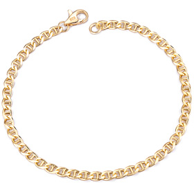14K / 18K ladder (small), (medium), (large) bracelet [