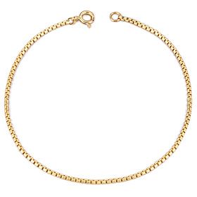 14K / 18K stylish box bracelet