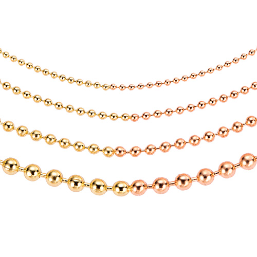 14K / 18K one ball combination bracelet [four families 1]