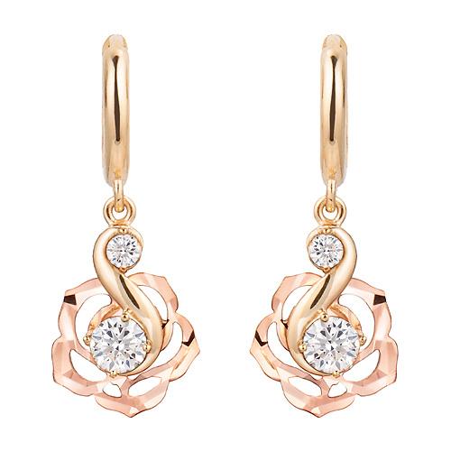 14K / 18K Versailles earring [overnightdelivery]