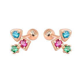 14K color romance piercing