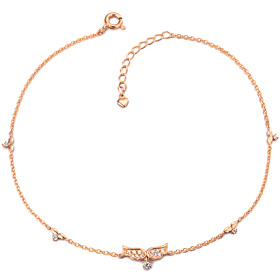 14k / 18k Sweet Angel anklet