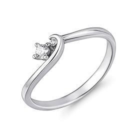 Platinum [Pt950] Windline platinum ring