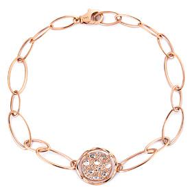 14k / 18k loop ring bracelet