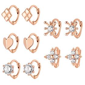 14K / 18K Cotton Earring / Earrings [5 House 1]