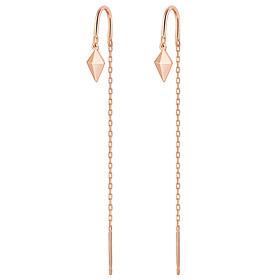 14K Spear Long Earrings