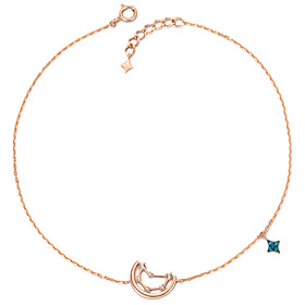 14k / 18k luck constellation anklet [12 species]