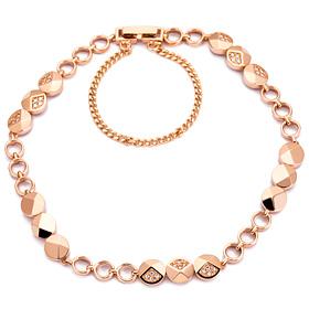 14k / 18k Circle Button bracelet