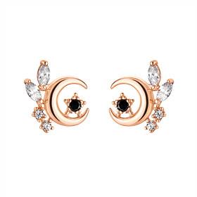 14K door flower earring