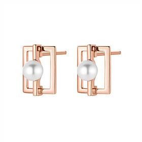 14K / 18K net pearl earring
