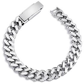 Platinum [Pt950] Octopus men platinum bracelet