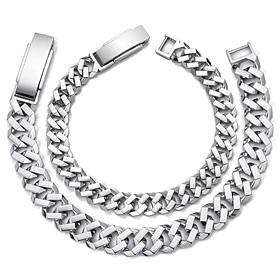 Platinum [Pt950] Octopus couple platinum bracelet [men, women pair price]