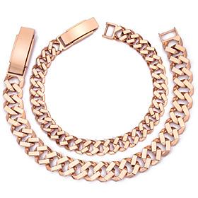 14K / 18K octopus couple bracelet [men, women pair price]