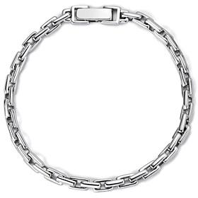 Platinum [Pt950] simple platinum bracelet [male recommended]
