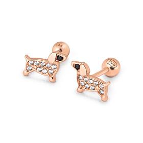 14K Puppy piercing