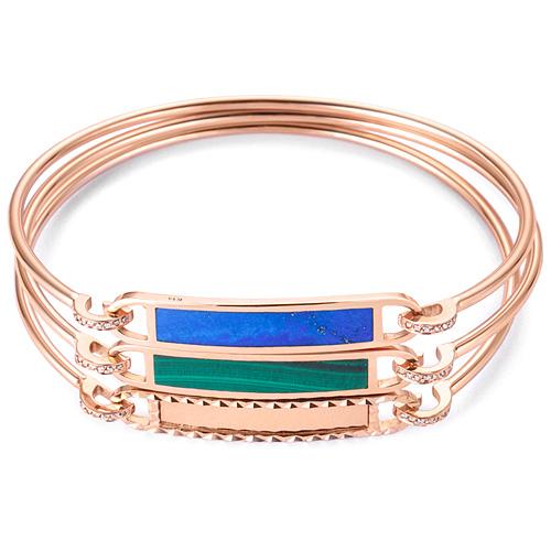 14K / 18K color bangle bracelet [3 families]