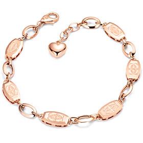 14k / 18k coffin bracelet