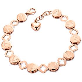 14k / 18k Circle Clover bracelet