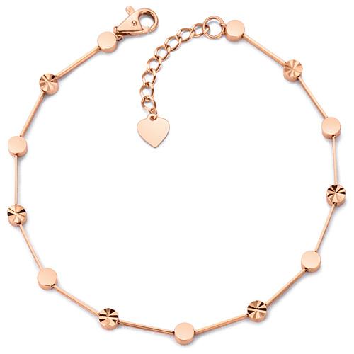 14k / 18k coin mirror bracelet