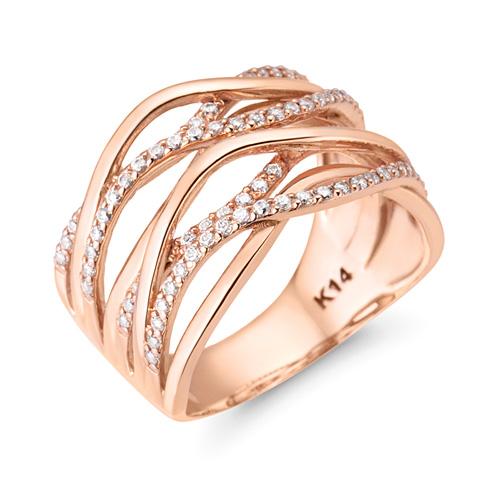14K / 18K sealing ring ring
