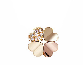14K / 18K Heart Clover Pendants purchase only [overnightdelivery]