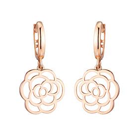 14K / 18K Lavigne Rose earring
