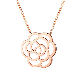 14K / 18K Lavigne Rose Necklace