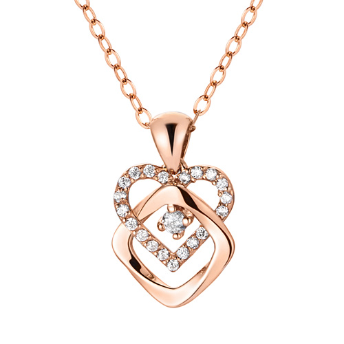 14K / 18K Love Twist Necklace