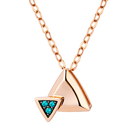 14K / 18K Twin Angle Necklace