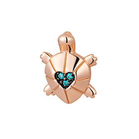 14K / 18K Blue Sea Turtle Pendants purchase only