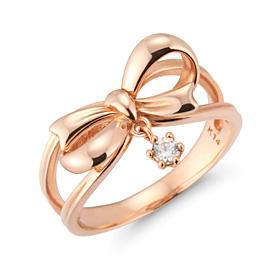 14K / 18K Ribbon True Love Ring