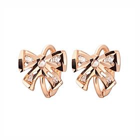 14K / 18K sera ribbon earring