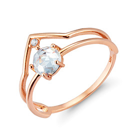 14K / 18K The Queen of the Snow ring