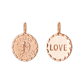 14K / 18K Cupid Coin Pendants purchase only