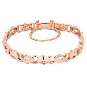 14K / 18K Shine Wave bracelet