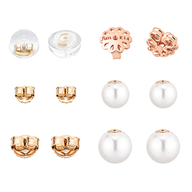 14K / 18K earring Clutch / 6 types of hatches [overnightdelivery]