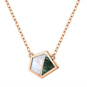 14K / 18K Natural Mother-of-Pearl Necklace