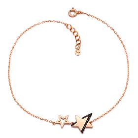 14K Starlight anklet [overnightdelivery]