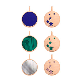 14K / 18K Astro Double-sided Pendants purchase only [3]